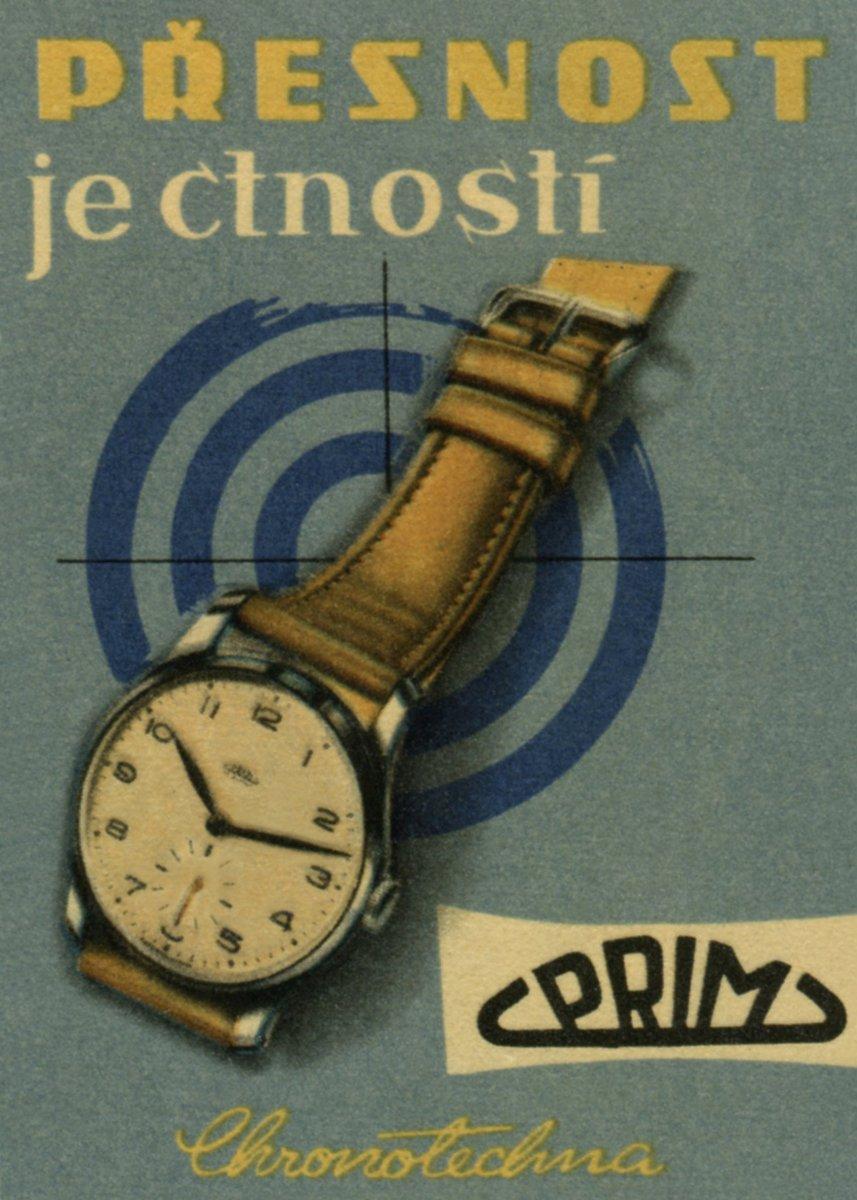 992d0f366 Vizuální styl imaginárního výrobce hodin Marie Čižmárová