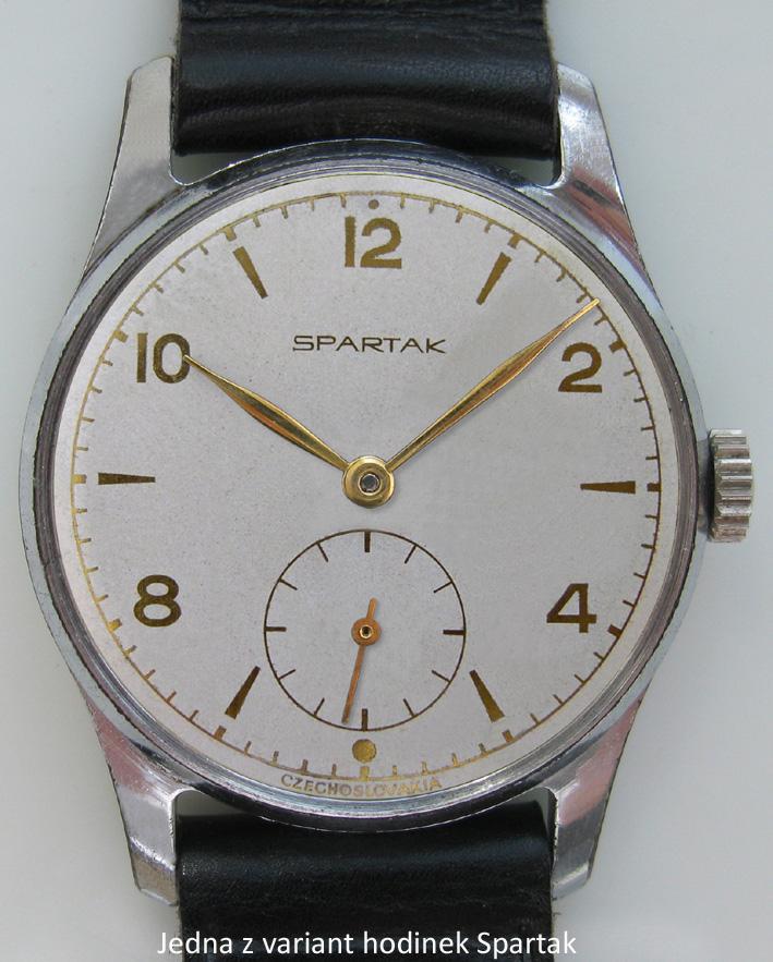 SPARTAK – první československé náramkové hodinky – AntikPrim